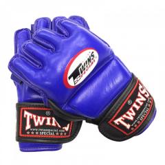 Перчатки для ММA TWINS SPECIAL GGL-3 Blue