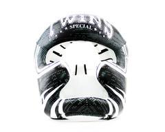 Шлем TWINS SPECIAL FHGL3-TW5 чёрно-белый