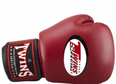 Перчатки для бокса TWINS SPECIAL BGVL-3 dark red