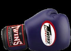 Перчатки для бокса TWINS SPECIAL BGVL-3 navy blue