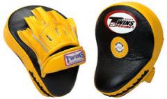 Лапы для бокса TWINS SPECIAL PML-10 желтые
