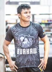 Майка Buakaw Sombat Banchamek Grey