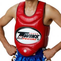Защитный жилет для бокса Twins Special BOPL1 red